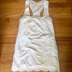 Banana Republic White Shift Dress 4